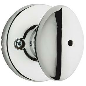 Kwikset Aliso Privacy Door Knob Finish: Polished Chrome
