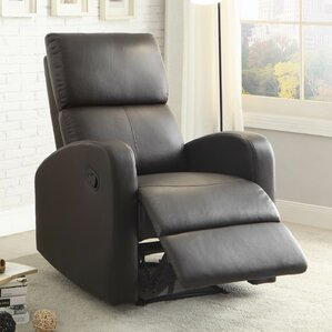 Larry Manual Wall Hugger Recliner by Latitude Run