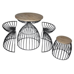 4 Piece Dining Set by Cheungs