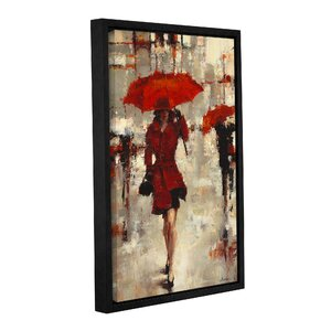 Paris Invitation Framed Painting Print by Latitude Run