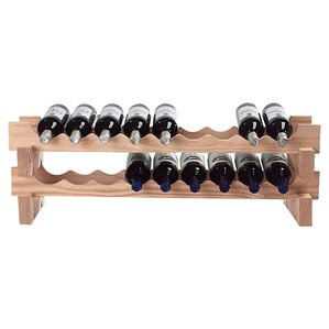Stackable Rack 18 Bottle Tabletop Wine Rack by Wine Enthusiast