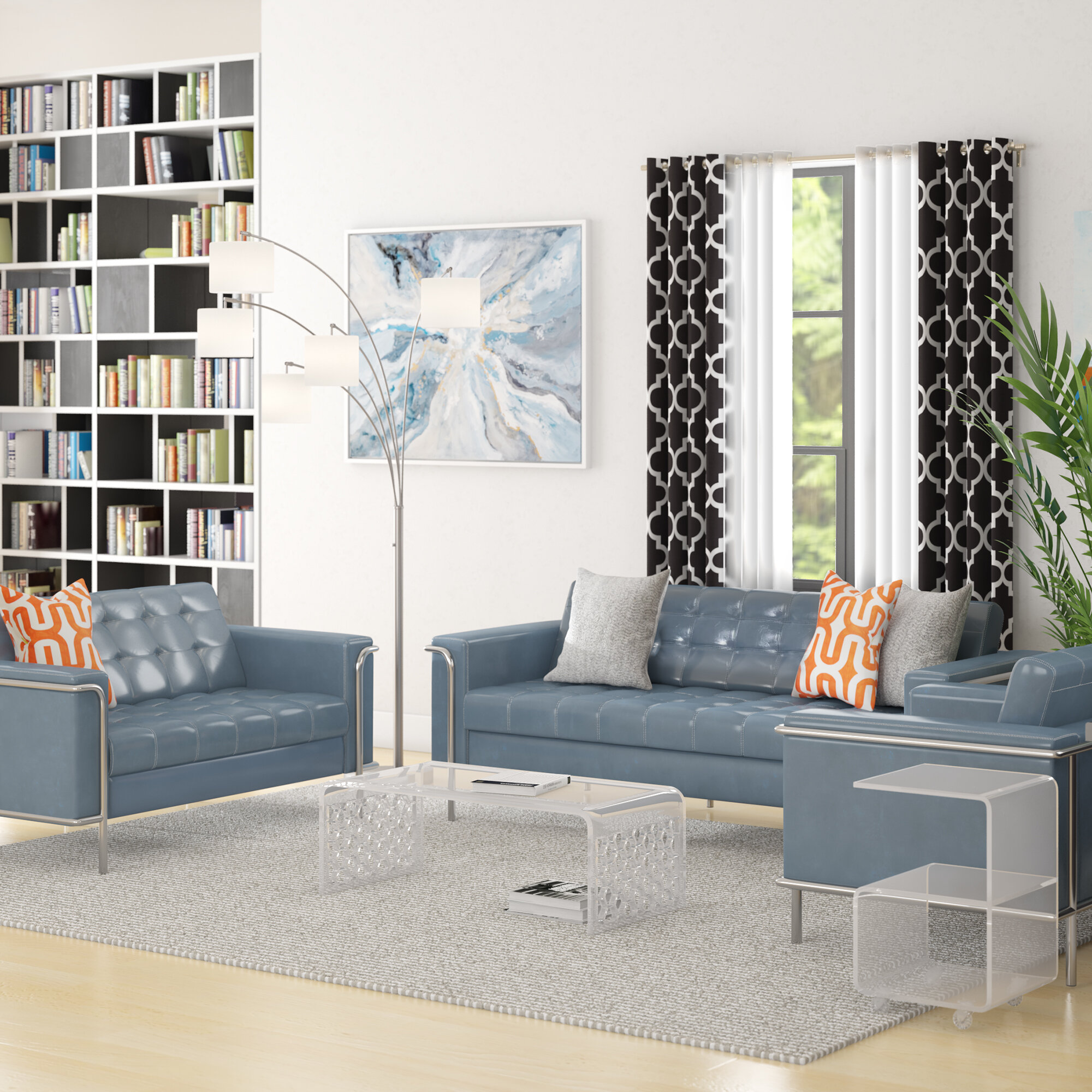 Merveilleux Brayden Studio Boggs Reception 3 Piece Furniture Sets | Wayfair