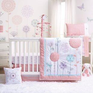 Shop For Wildflower 3 Piece Crib Bedding Set ByThe Peanut Shell