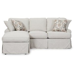 Callie T-Cushion Sofa Slipcover Set