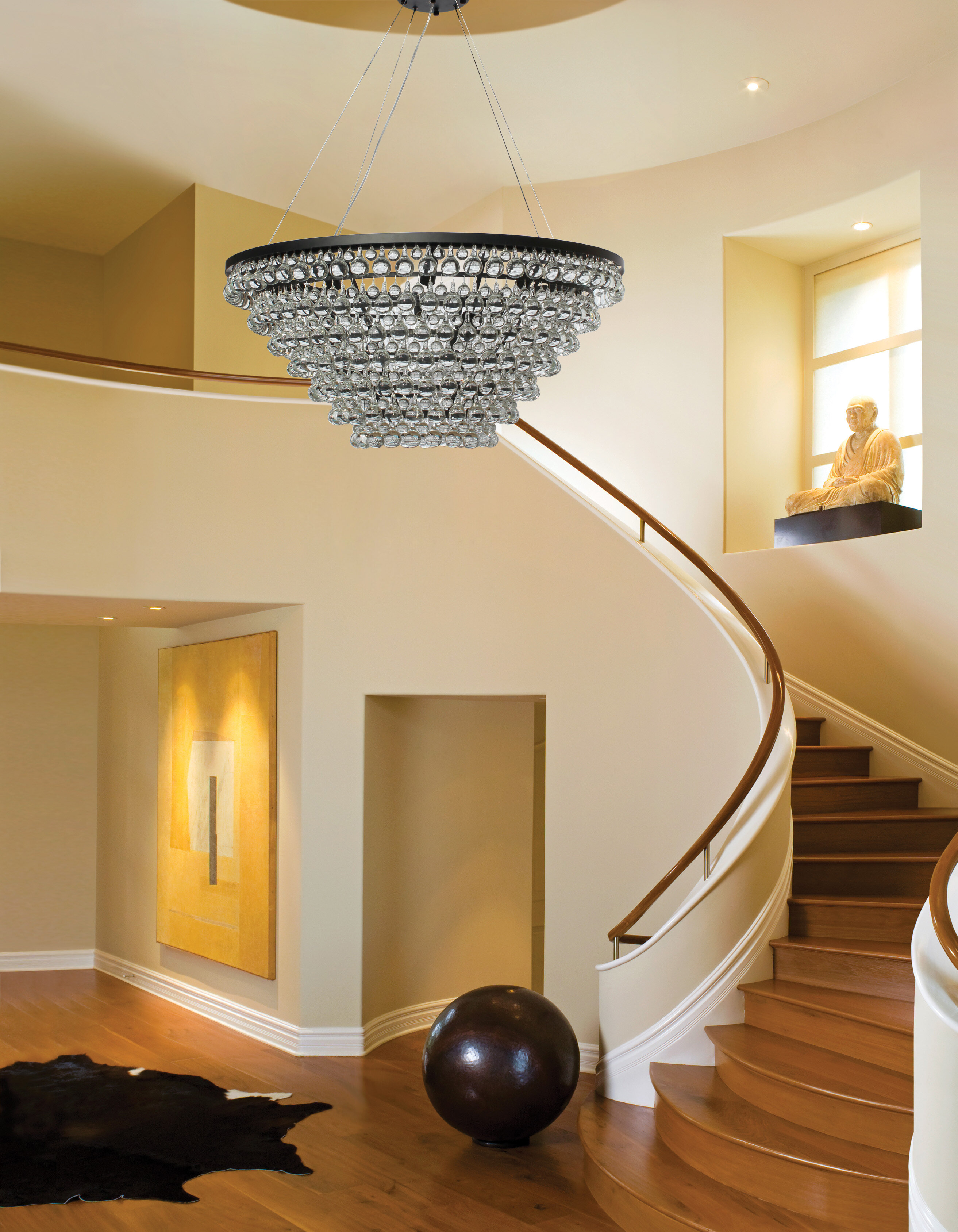 Willa Arlo Interiors Fabrice 15 Light Tapered Glass Drop Crystal