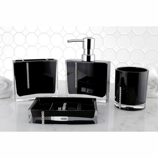 Reviews Capitol 4-Piece Bathroom Accessory Set ByKingston Brass
