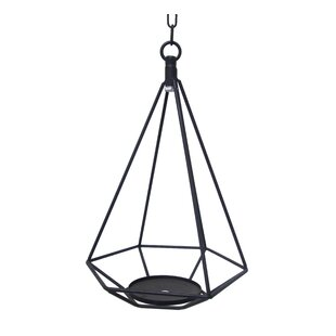 Affordable Price Hanging Geometric Metal Lantern By Wrought Studio