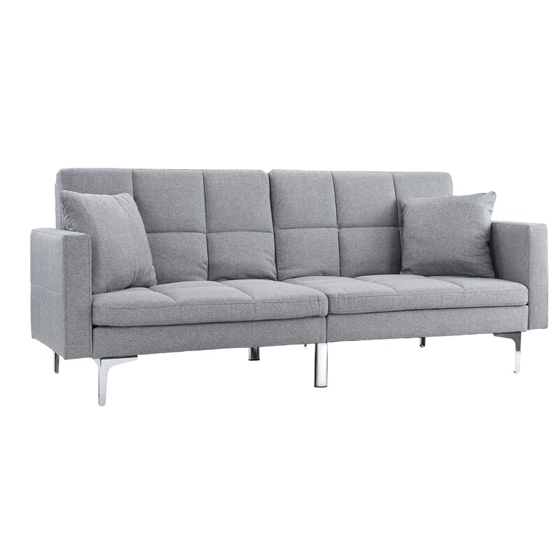 Orren Ellis Kouassi Modern Convertible Sofa & Reviews | Wayfair