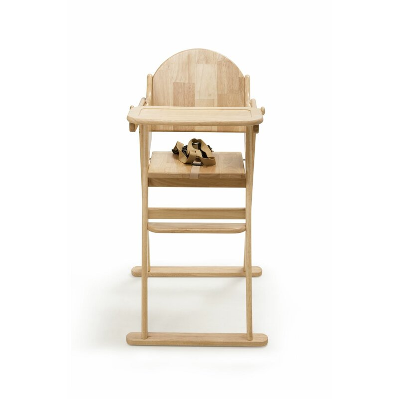 Max Darden Folding Wooden High Chair