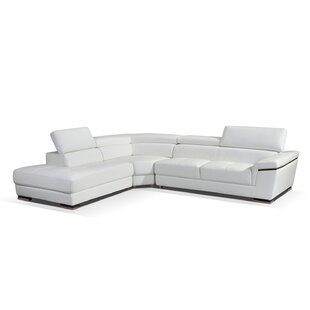 Duron Leather Sectional