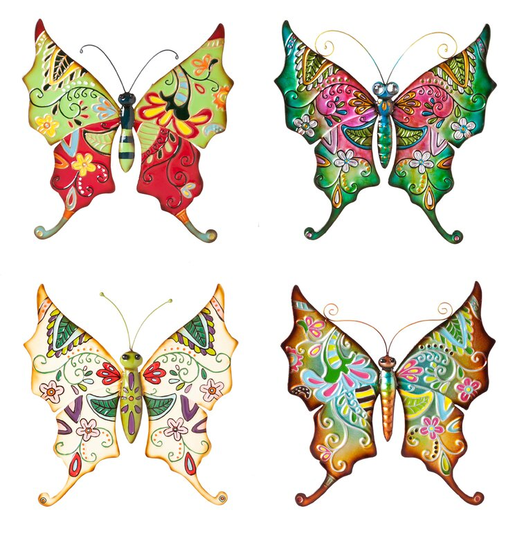 Boho Butterflies Wall Décor
