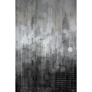 'Empire' by Parvez Taj Painting Print on Brushed Aluminum by Zipcode Design