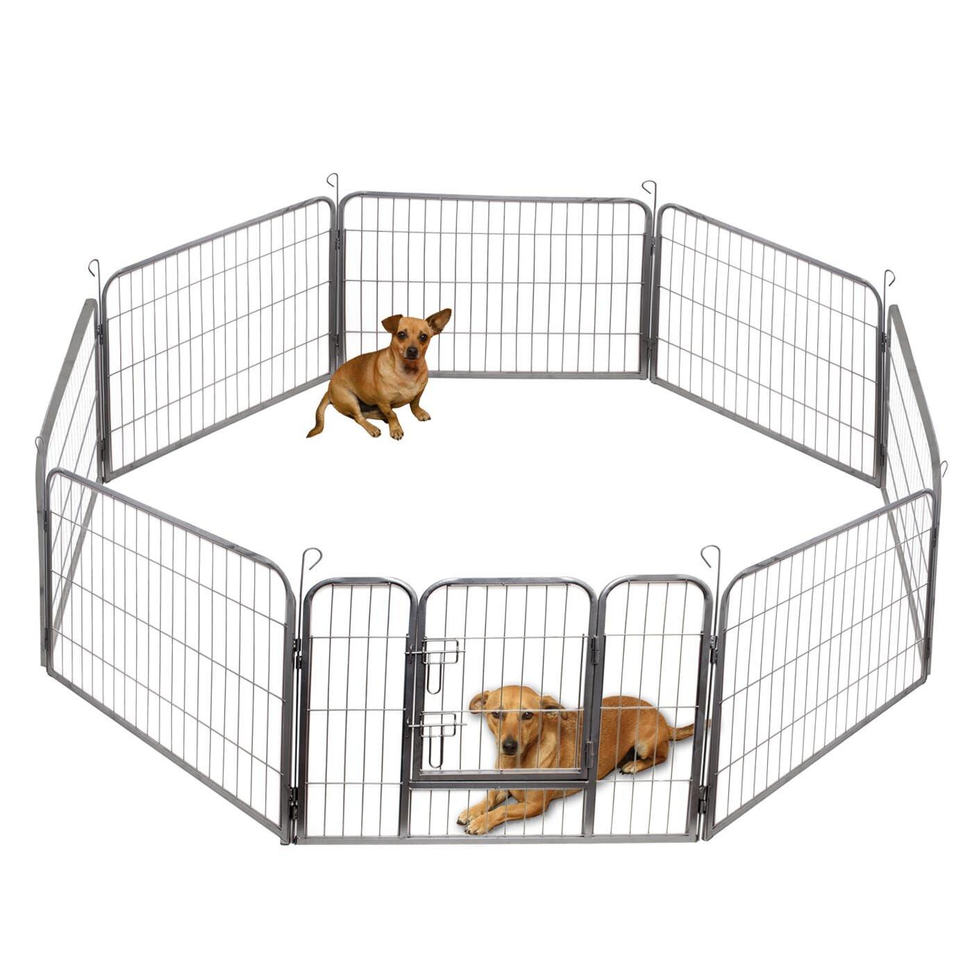 Dog Supplies 20'' Outdoor Indoor 20 Panel Heavy Duty Folding Pet ...