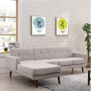 Online Reviews Barnet Mid Century Sectional By George Oliver