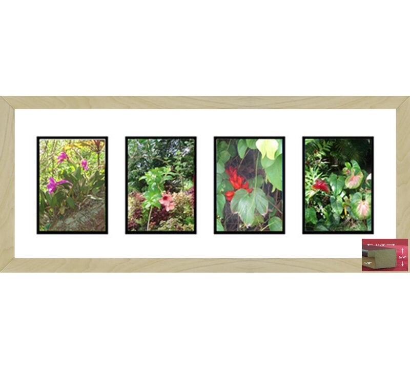Rosecliff Heights Creager 4 Opening Picture Frame | Wayfair