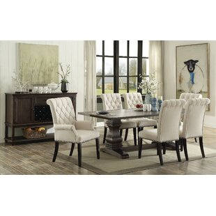 Farmhouse Dining Tables Birch Lane - White dining room table with leaf