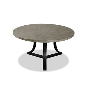 Louisa Rounded Wood Dining Table by Gracie Oaks