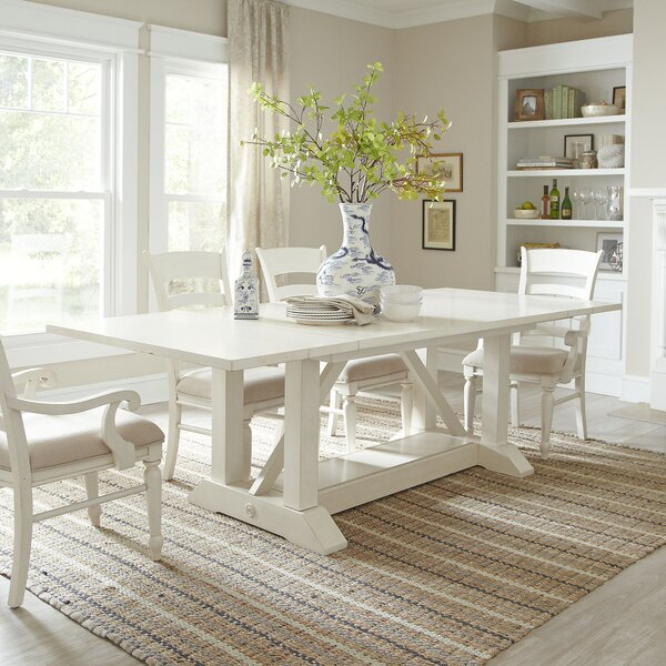 Birch Lane Lisbon Extendable Dining Table Reviews Wayfair