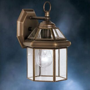 Compare Janette 1-Light Outdoor Wall Lantern By Darby Home Co