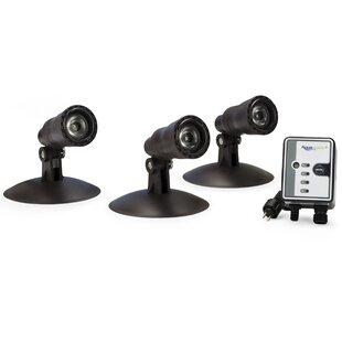 Best Reviews 1-Light Flood/Spot Light (Set of 3) (Set of 3) By Aquascape