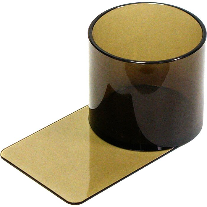 Trademark Global Plastic Cup Holder - Slide Under for Poker Table ...