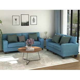 Hajrat 2 Piece Living Room Set by Latitude Run®