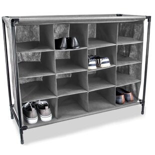 16-Pair Shoe Storage Cabinet by Home Basics