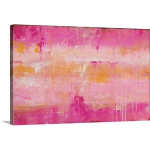 Champagne by Erin Ashley Graphic Art on Canvas by Great Big Canvas
