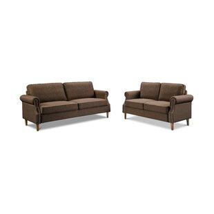 Geaghan 2 Piece Velvet Living Room Set by Red Barrel Studio®