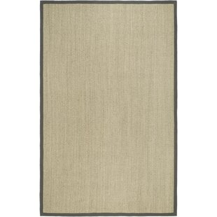 Price comparison Richmond Hand-Woven Marble/Gray Area Rug By Beachcrest Home