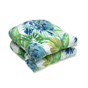 Soleil Outdoor Dining Chair Cushion (Set of 2)