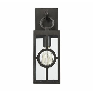 Reviews Wycoff LED Outdoor Wall Lantern By Gracie Oaks