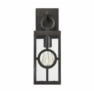Best Deals Wycoff LED Outdoor Wall Lantern By Gracie Oaks