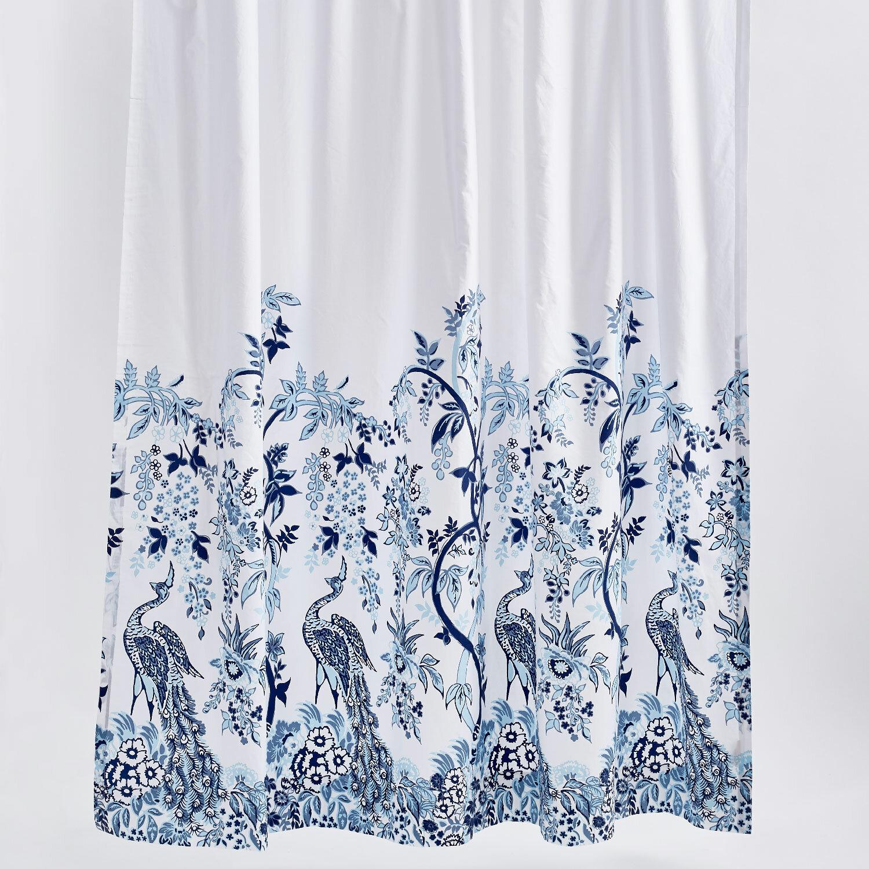John Robshaw Mayura 100 Cotton Floral Single Shower Curtain Perigold