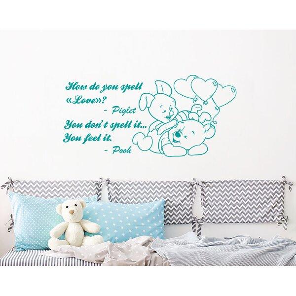 Winnie the Pooh decal wall sticker Perfect nursery baby children