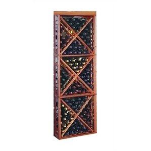 Designer Series 132 Bottle Floor Wine Rack by Wine Cellar Innovations