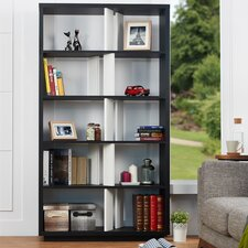 Costa Display 71 Accent Shelves Bookcase by Wade Logan