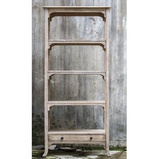 Astra Aged Etagere Bookcase