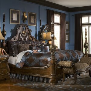 Sovereign Upholstered Four poster Bed