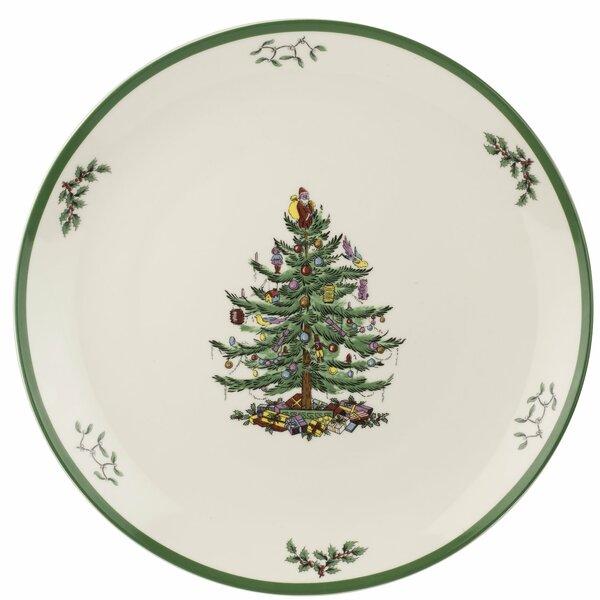 Spode Christmas Tree.Spode Christmas Tree Round Platter