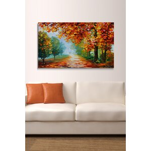 Evanescing Sight by Leonid Afremov Painting Print on Wrapped Canvas by Picture Perfect International