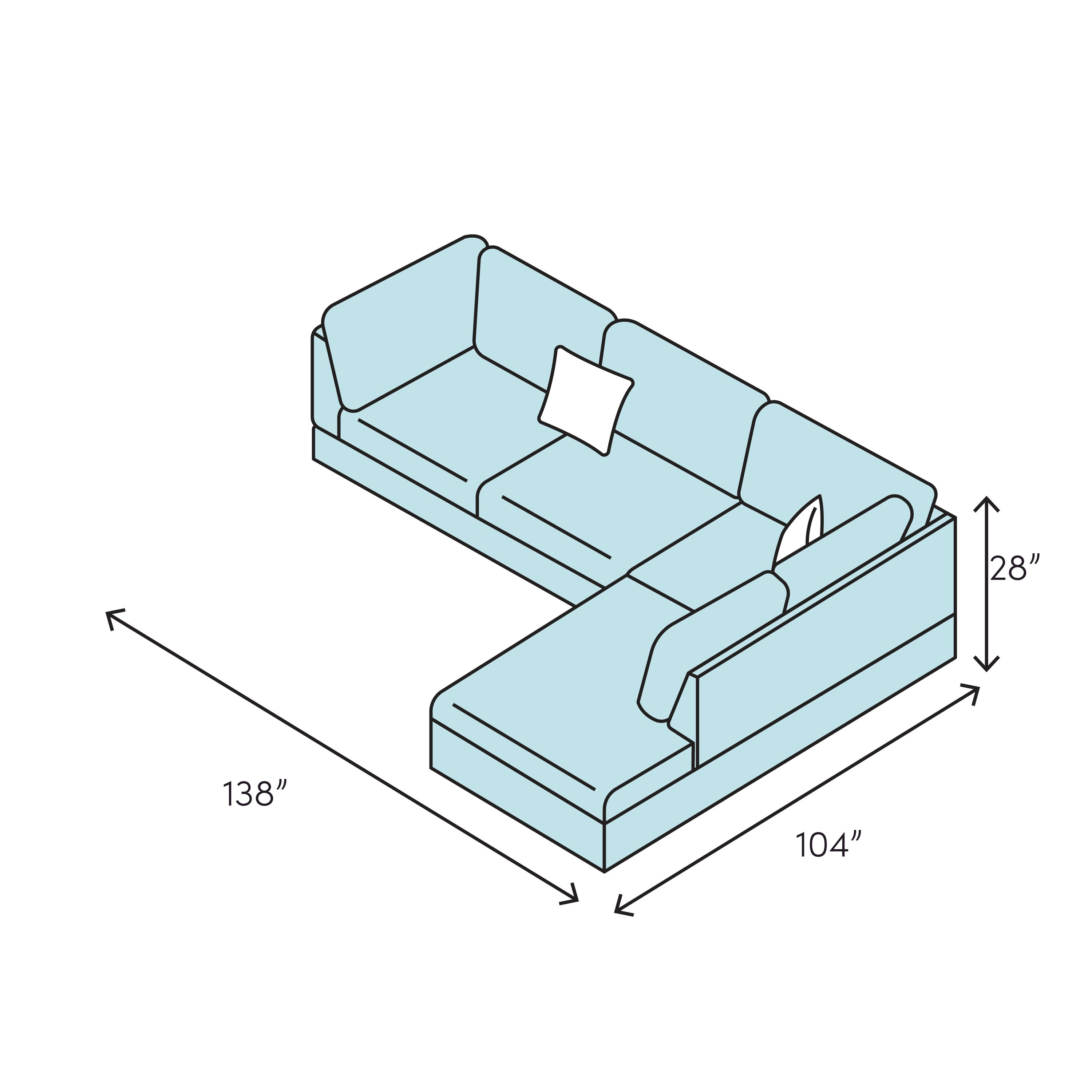 Corner Sectional With Chaise