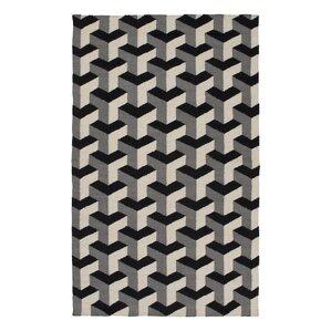 paloma handmade blackgray area rug