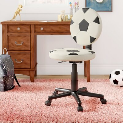 Zoomie Kids Duran Soccer Mid-Back Kids Desk Chair