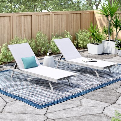 Chaise Lounge Set Outdoor Chaise Amp Lounge Chairs You Ll