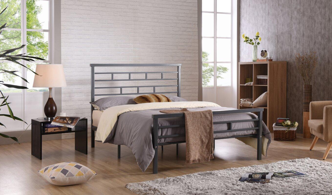 Wayfair Queen Bed Platform Wayfair Canada Queen Bed Frame: Hodedah Platform Bed & Reviews