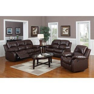 Bryce Reclining 3 Piece Reclining Living Room Set by Latitude Run
