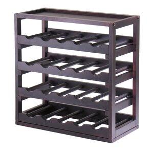 Thorndike 20 Bottle Floor Wine Rack by Red Barrel Studio