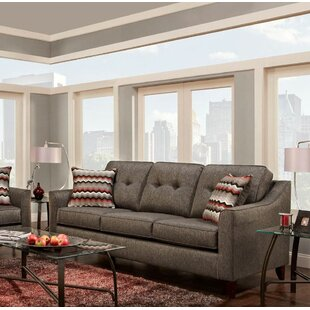 Silverberg Tufted Sofa Wrought Studio
