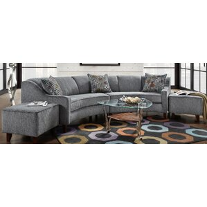 Caroline Sectional  sc 1 st  Wayfair : rounded sectional - Sectionals, Sofas & Couches